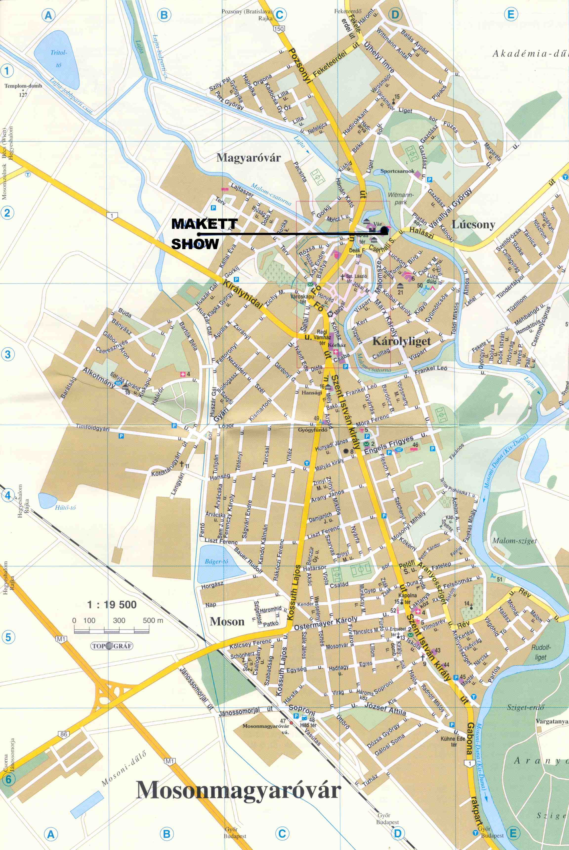 mosonmagyaróvár térkép Makettinfo   Makettinfo   Hungarian Scalemodeling Site mosonmagyaróvár térkép